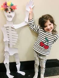 Life-size Skeleton Decoration with Adriana Roberts at City Arts ...
