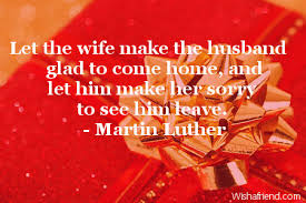 let the wife make the husband birthday quote for husband