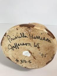 Vintage Antique Mold Reproduction Cat Chalkware Signed Priscilla Harrison |  eBay