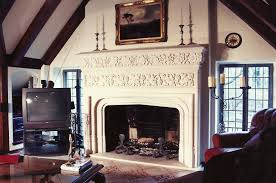 utrata great room fireplace old world