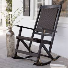 black hardwood porch rocker in 2020