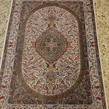 handmade persian rug 5947 silk