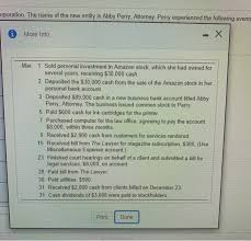 Solved: P1-53B (book/static) Question Help Abby Perry Rece... | Chegg.com
