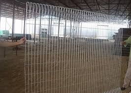 Security Brc Roll Top Mesh Fence Panels With Hot Dip Galvanized Surface Treatment
