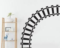 Train Track Decals Etsy