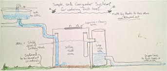 biological diy greywater system