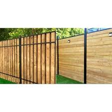 Slipfence 3 In X 3 In X 100 In Black Powder Coated Aluminum Fence Post Includes Post Cap Sf2 Pk308 The Home Depot