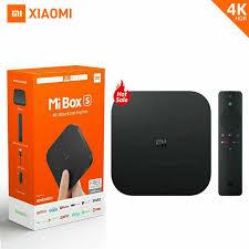 Global Version Xiaomi Mi Box S 4K TV Box Cortex A53 Quad Core 64 Bit Mali  450 Android 2GB+8GB HDMI2.0 Google BT4.2 TV Box Case Tv To Vga Converter  Hdmi To Vga