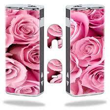 Skin Decal Wrap For Eleaf Istick 20w Vapor Mod Vape Sticker Pink Roses Vape Pink Roses Ad Art