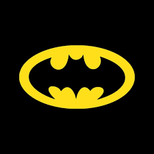 Batman Decal Batman Sticker Retro Batman Logo Dark Knight Etsy