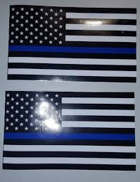 Car Truck Decals Stickers 5pcs Police Officer Thin Blue Line American Flag Decal Car Sticker Graphic Decal Labbo Com Br