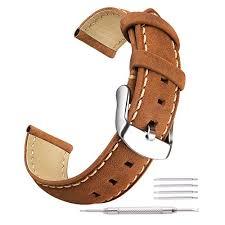 ritche brown genuine leather straps