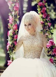 صور عرايس محجبات عروسة محجبة جميلة اوى كيوت