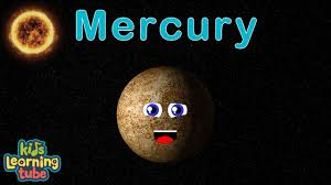 planet mercury song for kids
