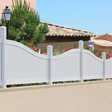 White Pvc Fence Slats And Gates Hardware Pipe Fittings Aruvil
