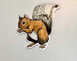 Squirrel Decals Etsy