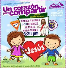 Diseno Para Campana De Evangelismo Infantil By Aracely Tarjetas