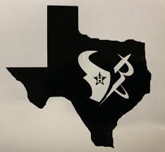 H Star Houston Astros Texas Rockets Texans Vinyl Decal Sticker Etsy