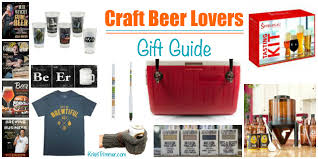 gifts for craft beer enthusiasts