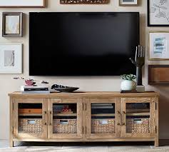 pottery barn tv stand the instapaper