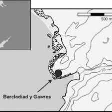 Location of Barclodiad y Gawres (drawn by Abby George) | Download  Scientific Diagram