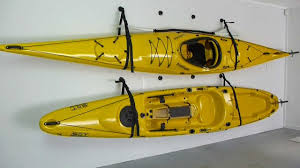How To Store A Kayak With The Railblaza Starport Wall Sling Youtube