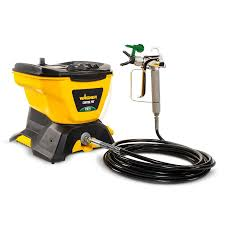 Wagner Control Pro 130 Electric Stationary Airless Paint Sprayer In The Airless Paint Sprayers Department At Lowes Com