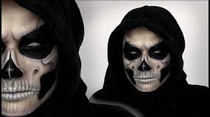 grim reaper makeup tutorial for