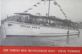 vine brochure uncle sam boat tours