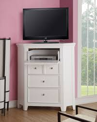 Lacene Kids Traditional Girl S Youth Corner Tv Console In White Finish