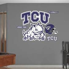 Fathead Tcu Horned Frogs Logo Wall Decal Dick S Sporting Goods