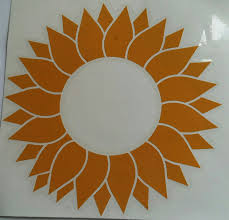 Sunflower Vinyl Decal