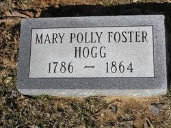 "Mary ""Polly"" Foster Hogg (1787-1864) - Find A Grave Memorial"