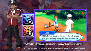 Pokemon Ultra Sun And Moon ROM DOWNLOAD .CIA .3DS