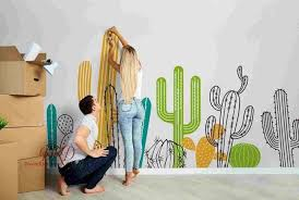 Cactus Wall Decals Nursery Wall Decals By Dreamkidsdecal On Zibbet