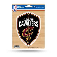 Cleveland Cavaliers Logo Die Cut Vinyl Sticker At Sticker Shoppe