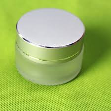 20g frosted glass cream jar cosmetic