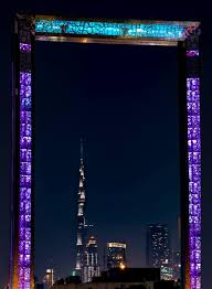 the frame of dubai