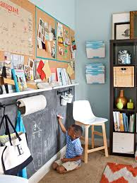 Easy One Wall Makeover Ideas Office Playroom Home Decor Trends Home Decor
