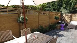 Canterbury Combi Slatted Fence Panels Jacksons Fencing