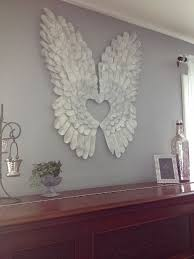 angel wall art how to make wings