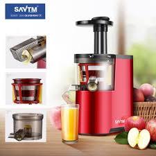 Máy ép chậm SAVTM JE-07 vỏ đỏ: Mua bán trực tuyến Máy xay & ép trái cây với  giá rẻ
