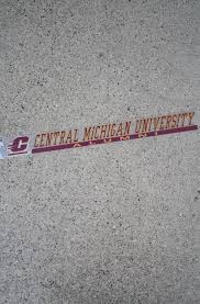Flying C Central Michigan University Alumni Decal Approx 16x2 Inside Application The Cmu Bookstore