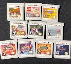 Nintendo 3DS Games (Pokemon, Mario, Marvel, Castlevania & More ...