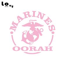Military Us Marine Oorah Logo Vinyl Car Sticker Decal For Car Window Body Decoration Ca1065 Car Stickers Aliexpress