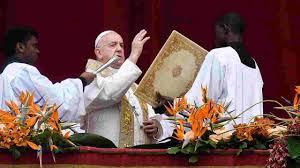 Papa Francesco e il messaggio di Pasqua Urbi et Orbi