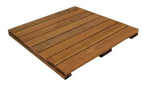 ipe hardwood deck tiles in 24x24 tile