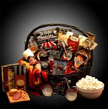 he s a motorcycle man gift basket