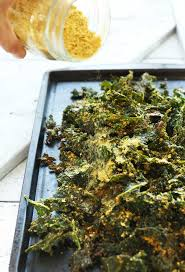 30 minute cheesy kale chips