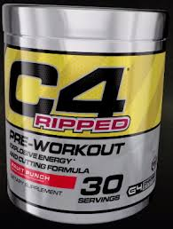 cellucor c4 ripped the fat burning
